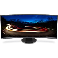 NEC MultiSync EX341R-BK - LED monitor - curved - 34""