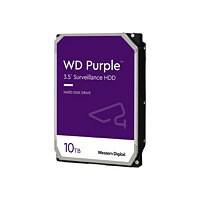 WD Purple Surveillance Hard Drive WD100PURZ - hard drive - 10 TB - SATA 6Gb