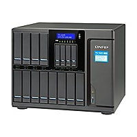QNAP 12+4 BAY 6 CORE 128GB NAS