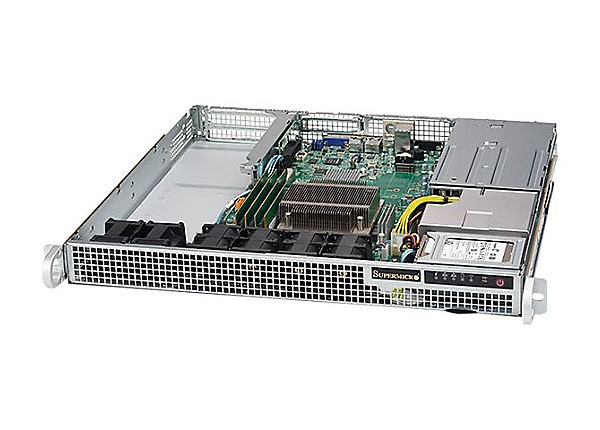 Supermicro SuperServer 1019S-WR - rack-mountable - no CPU - 0 MB - 0 GB