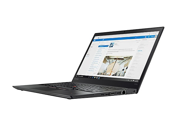 "Lenovo ThinkPad T470s - 14"" - Core i5 6300U - 4 GB RAM - 180 GB SSD"