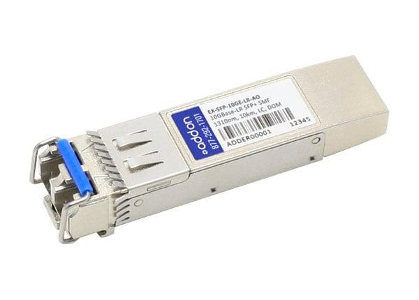 AddOn Juniper Compatible SFP+ Transceiver - SFP+ transceiver module - 10 Gi
