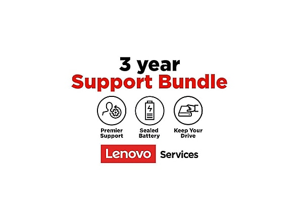 Lenovo Premier Support + Keep Your Drive + Sealed Battery - extended servic