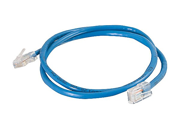 C2G Cat5e Non-Booted Unshielded (UTP) Network Crossover Patch Cable - cross