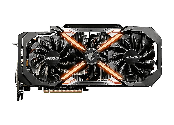 Gigabyte AORUS GeForce GTX 1080 Ti Xtreme Edition 11G - graphics card - GF