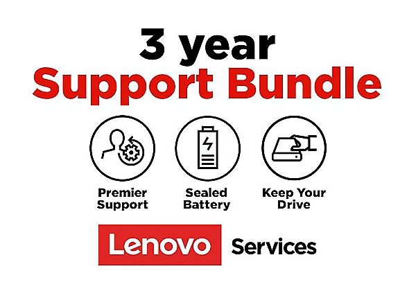 Lenovo Onsite + Keep Your Drive + Sealed Battery + Premier Support - extend