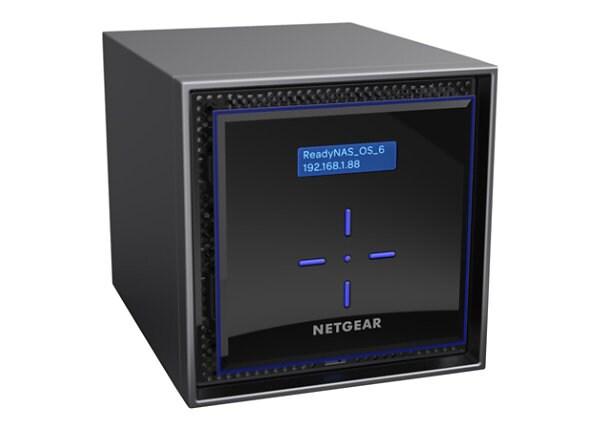 NETGEAR ReadyNAS 422 2-Bay 4TB Enterprise, 1.5GHz, 2GB RAM (RN422E2)