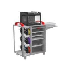MooreCo Makerspace 3D Printer Cart - Gray