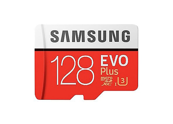 Samsung EVO Plus MB-MC128G - flash memory card - 128 GB - microSDXC UHS-I