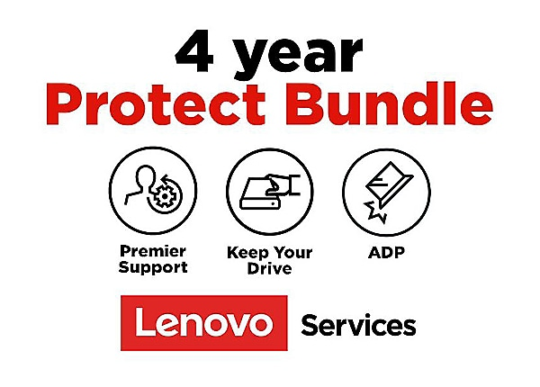 Lenovo On-Site + ADP + KYD + Premier Support - extended service agreement -