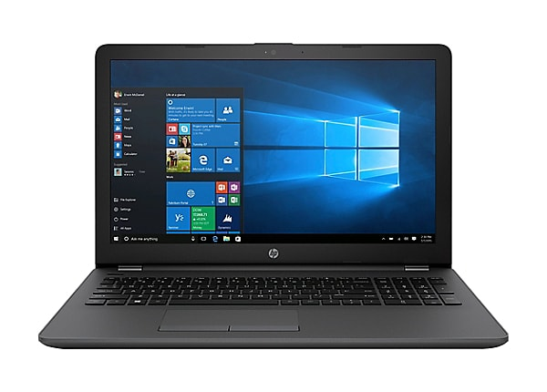 """HP 250 G6 - 15.6"""" - Core i5 7200U - 8 GB RAM - 256 GB SSD - US"""