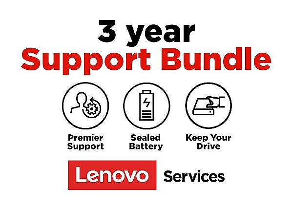 Lenovo On-Site + KYD + Sealed Battery + Premier Support - extended service
