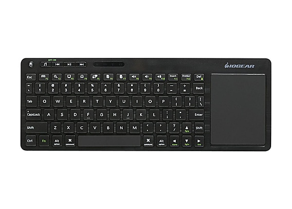 IOGEAR Multimedia with Touch Pad GKM562R - keyboard - QWERTY