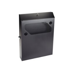 "Black Box Low-Profile Vertical Wallmount Cabinet 24""D Equipment rack - 2U"