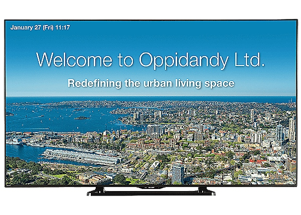 "Sharp LE701 70"" Commercial LCD Display"