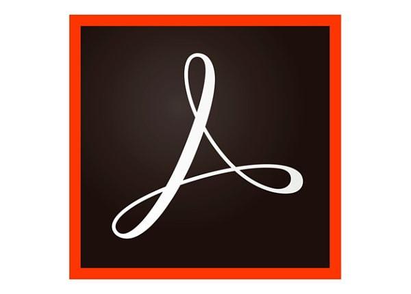 Adobe Acrobat Standard 2017 - upgrade license - 50 users