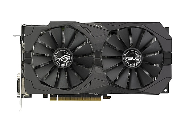 ASUS ROG-STRIX-RX570-O4G-GAMING - OC Edition - graphics card - Radeon RX 57