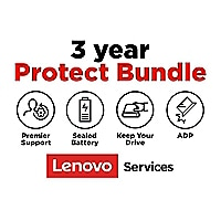 Lenovo 3 Year Protect Bundle with Premier Support Onsite Warranty