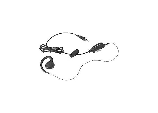 Motorola HKLN4455A Earpiece with In-Line Push-to-Talk - headset