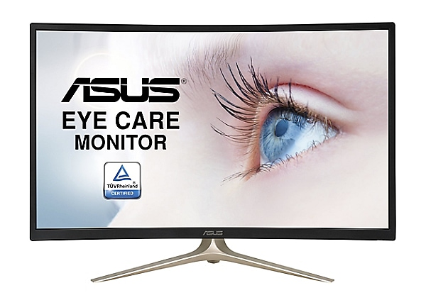 ASUS VA327H - LED monitor - curved - Full HD (1080p) - 31.5""