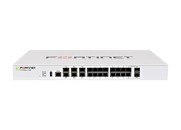 Fortinet FortiGate 101E - UTM Bundle - security appliance - with 3 years Fo