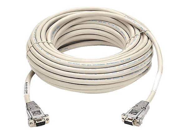 Black Box null modem cable - 7.6 m