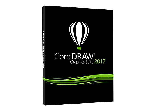 CorelDRAW Graphics Suite 2017 - box pack - 1 user