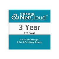 Cradlepoint NetCloud Manager Standard - subscription license renewal (3 yea