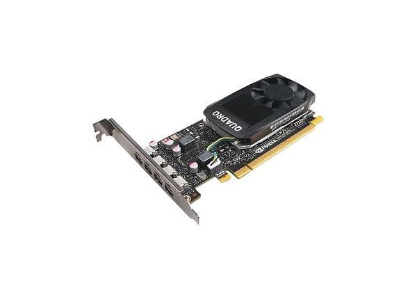 NVIDIA Quadro P1000 - graphics card - Quadro P1000 - 4 GB