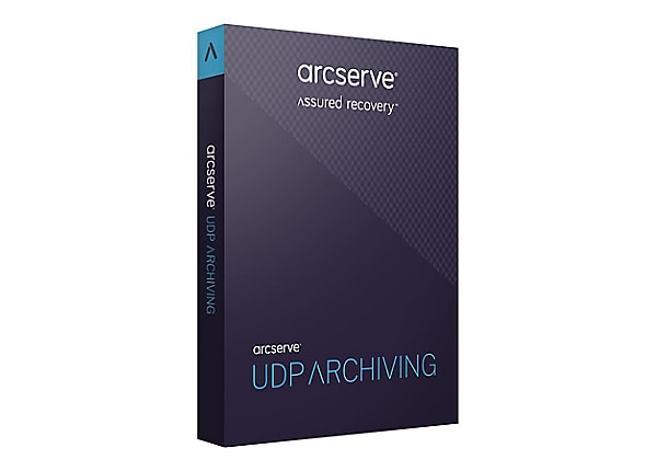 Arcserve UDP Archiving - Email (v. 6.0) - subscription license (3 years) -