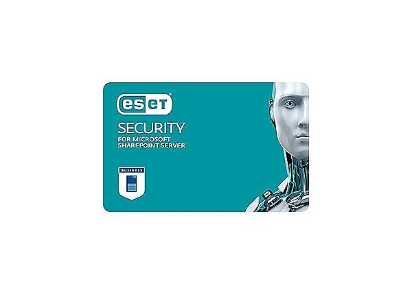 ESET Security for Microsoft SharePoint Server - subscription license (1 yea