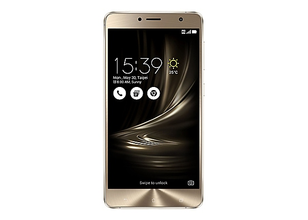 ASUS ZenFone 3 Deluxe (ZS550KL) - glacier silver - 4G HSPA+ - 32 GB - GSM -
