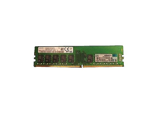 HPE - DDR4 - 16 GB - DIMM 288-pin - unbuffered