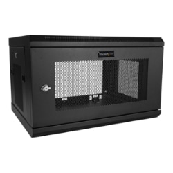 "StarTech.com 6U Wall Mount Server Rack Cabinet - 2-Post Upto 14.8"" Deep IT"