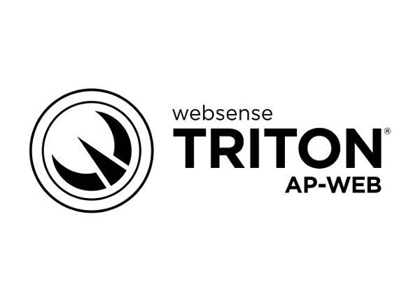 TRITON AP-WEB - subscription license renewal (5 months) - 1 license