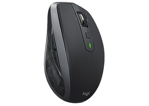 Logitech MX Anywhere 2S - mouse - 2.4 GHz - graphite