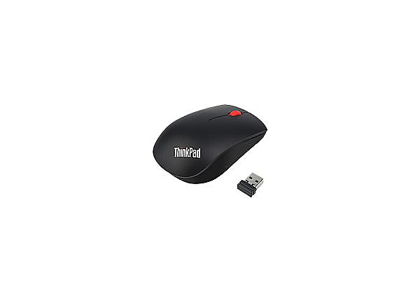 c001add9d48 Lenovo ThinkPad Essential Wireless Mouse - mouse - 2.4 GHz - 4X30M56887 -  Mice & Trackballs - CDW.com