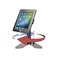 CTA Dual Security Kiosk Stand with Locking Case - stand