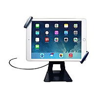 CTA Universal Anti-Theft Security Grip with Stand - tablet holder security