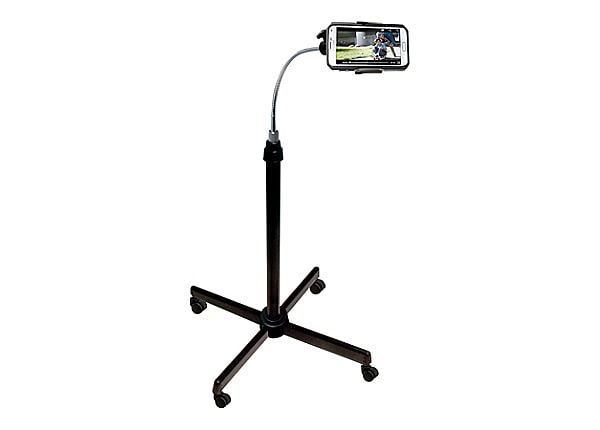 CTA Universal Height-Adjustable Gooseneck Stand With Casters - stand for ce