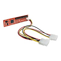 Tripp Lite 40-Pin Male IDE to 2.5in, 3.5in, 5.25in SATA Adapter SSD, HDD