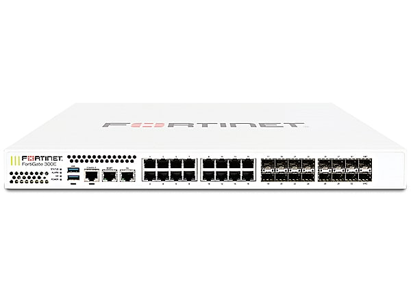 Fortinet FortiGate 300E Security Appliance w/1-Year 8x5 FC and FG UTM