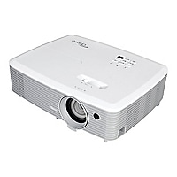 Optoma W400+ - DLP projector - portable - 3D - LAN