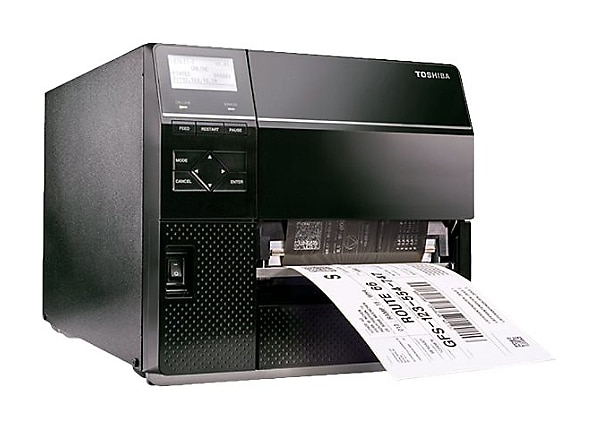 Toshiba TEC B-EX6T1-TS12-QM-R - Industrial Series - label printer - B/W - d