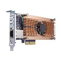 QNAP QM2-2S10G1T - storage controller - SATA - PCIe 2.0 x4