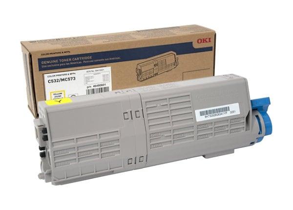 OKI - High Capacity - yellow - original - toner cartridge