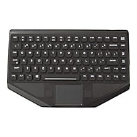 TG3 Electronics BLTXR Series Mobile Data - keyboard - with touchpad - black