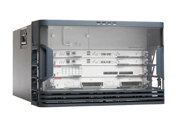 Cisco Nexus 7000 Series 4-Slot Chassis - switch - rack-mountable
