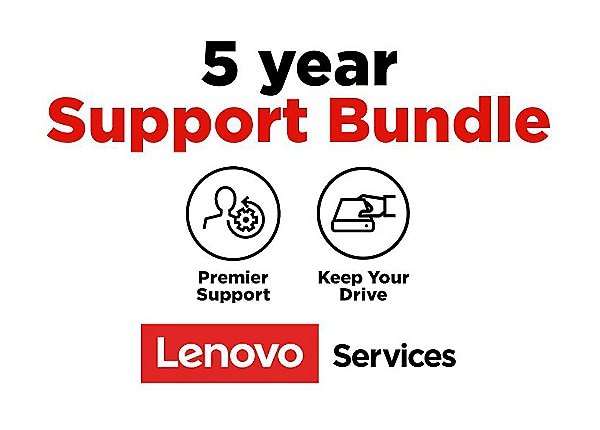 Lenovo Onsite + Keep Your Drive + Premier Support - extended service agreem