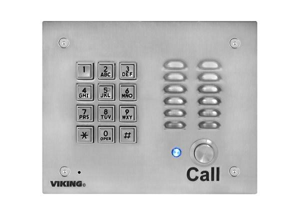 VIKING VOIP ENTRY PHONE W/KEYPAD